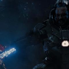 Vanko intenta matar a Stark.