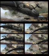 Captain America The Winter Soldier 2014 concept art 6