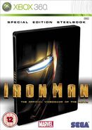 IronMan 360 UK cover steelbook