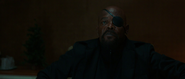 Nick Fury meets Spider-Man