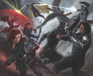Captain America Civil War - Concept Art - Avengers