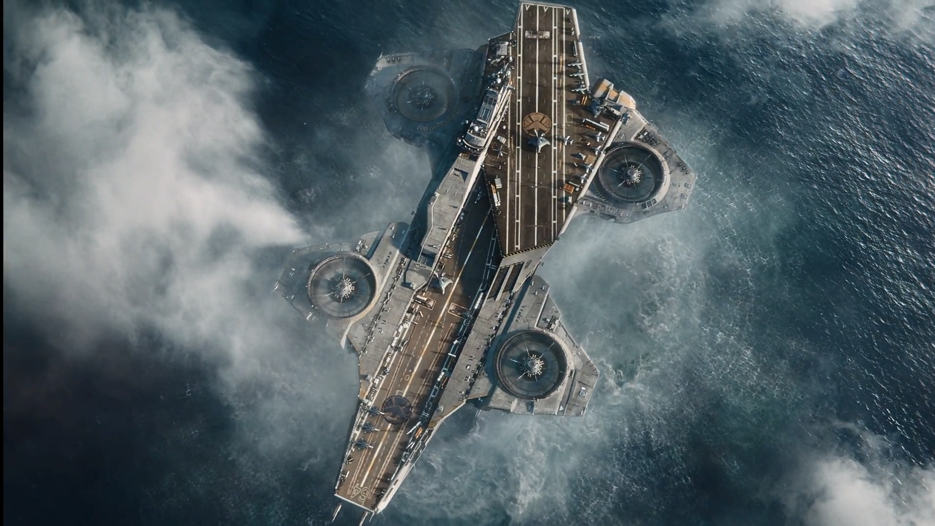 Helicarrier marvel cinematic universe wiki fandom powered by wikia helicarrier malvernweather Choice Image