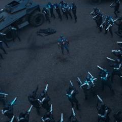 Rogers es capturado por los soldados de HYDRA.