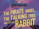 Avengers: Endgame: The Pirate Angel, The Talking Tree, and Captain Rabbit