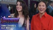 Emma Lahana and Ally Maki bring the Mayhem LIVE at the Avengers Endgame Premiere