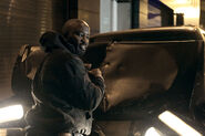 Mike Colter Luke Cage BTS 37