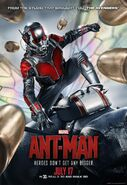 Ant-Man Heroes Don't Get Any Bigger poster