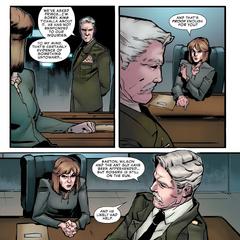 Ross trata de convencer a Hawley de ayudarla en la captura de Romanoff.