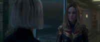 Captain Marvel meets the Avengers