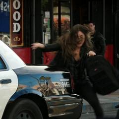 Skye intenta huir de Ward.