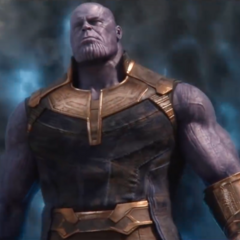 Thanos llega a la Tierra.