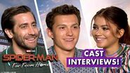 Tom Holland! Zendaya! Jake Gyllenhaal! Samuel L