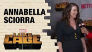 Annabella Sciorra on Playing Crime Boss Rosalie Carbone in Marvel's Luke Cage Season 2