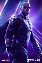 Avengers Infinity War Falcon Poster