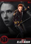 Black Widow Topps Promotional Art