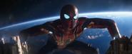 Iron Spider Climbs Back Up (Q-Ship)