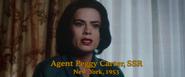 SSR Agent Peggy Carter (New York - 1953)
