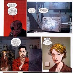 Stark regresa a su mansión y descubre las intenciones de Fury.
