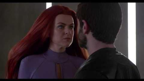 """Marvel's Inhumans"" Clip -- Maximus and Medusa Face Off"