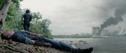 Bucky salva a Rogers