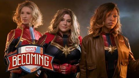 Captain Marvel Marvel Becoming