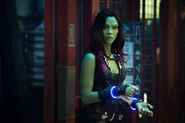 Gamora in Cuffs