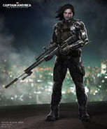 Captain America The Winter Soldier 2014 concept art 30