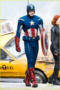 Captain america avengers on set-3