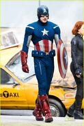 Captain america avengers on set-3
