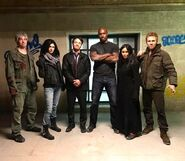 Defenders stunt doubles