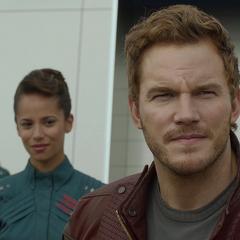 Quill considera su futuro con los Guardianes de la Galaxia.