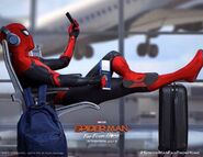 Spider-Man Far From Home Airport Banner