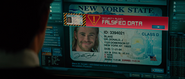 Thor's Fake I.D (NY State Driver's License)