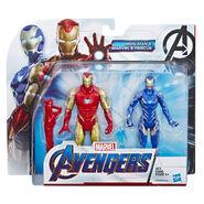 Avengers Endgame Iron Man Mark LXXXV & Rescue Figure in Box