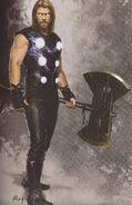 Avengers Infinity War Thor concept art 1