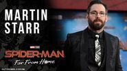 Martin Starr LIVE at the Spider-Man Far From Home red carpet