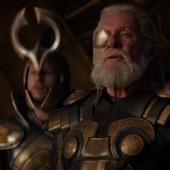 Odín se entera de que Heimdall ayudó a Thor a escapar.
