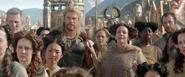 Thor Observing Loki's Tragedy