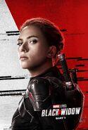 Natasha Romanoff Character Poster