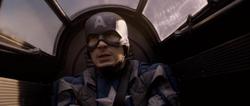Steve Rogers regresando al Valkiria
