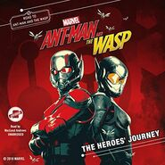 Ant-Man and the Wasp The Heroes' Journey Audiobook