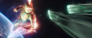 CM flying vs Kree