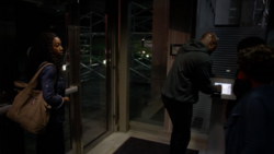Cage entring Rand's Enterprises