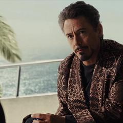 Stark habla con Fury sobre Howard.