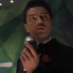 Stark narra una introducción de su automóvil volador.