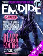 Empire magazine black panther cover michael b jordan erik killmonger
