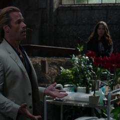 Killian se reencuentra con Stark.