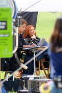 On set Captain America Winter Soldier-06