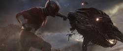 Ant-Man punches Leviathan