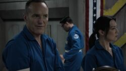 Coulson talks about the lockdown